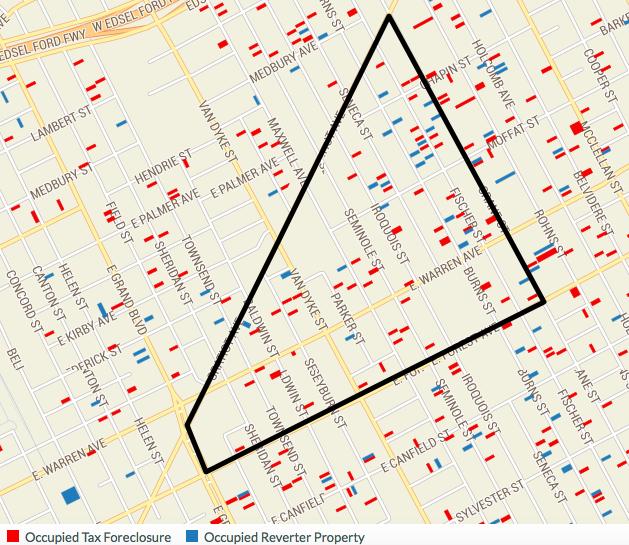 Arqueshas map